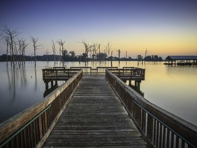 Poverty Point Reservoir State Park fishing Pier Photo